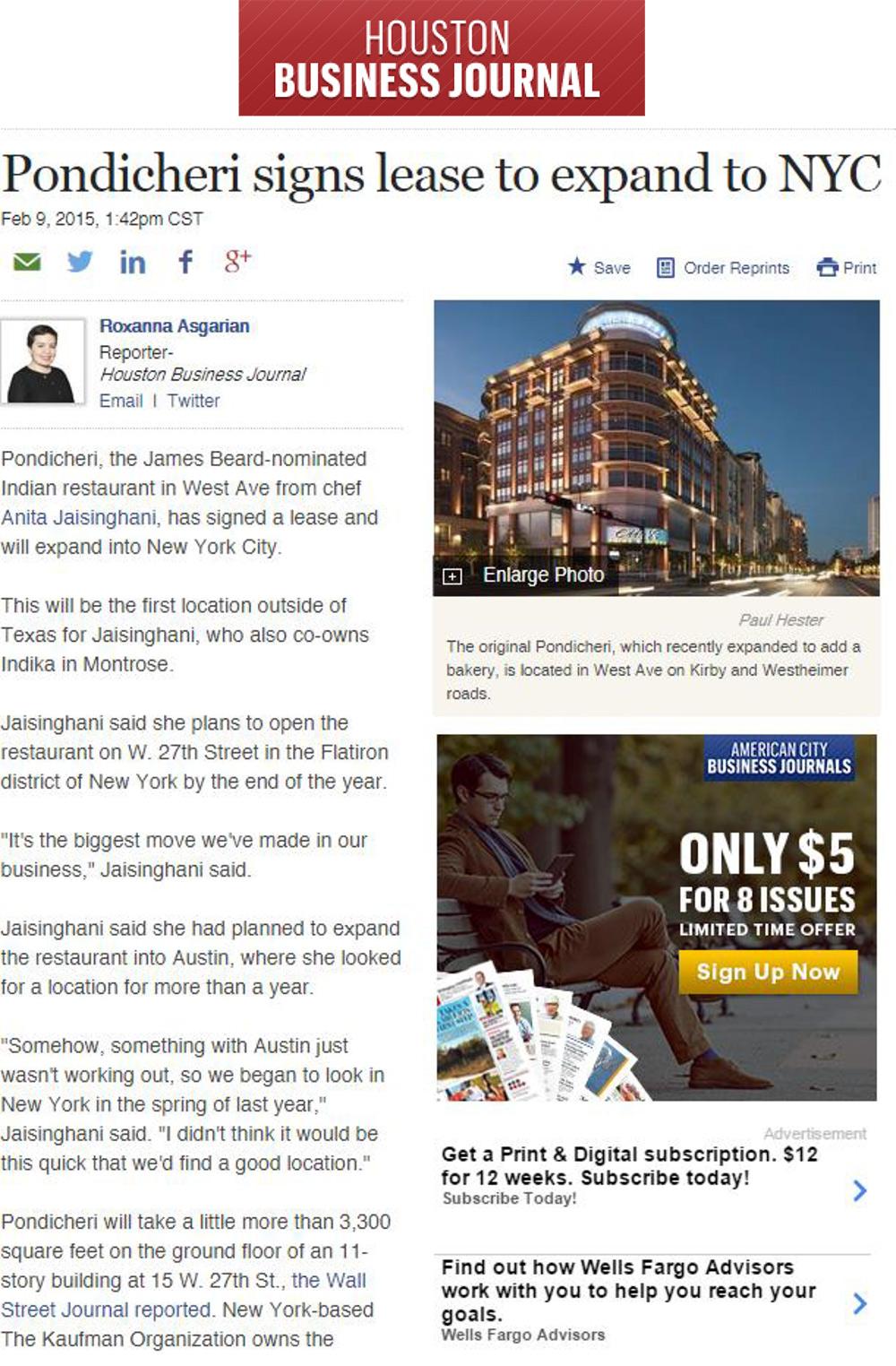 Houston-Business-Journal,-Pondicheri,-2