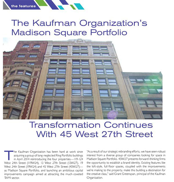 Mann Report on Madison Square: preview