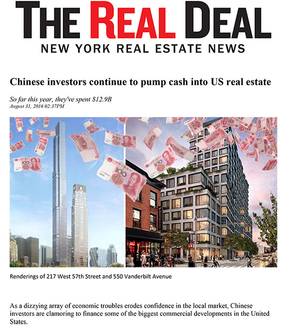 Real Deal Preview: Chinese Investors