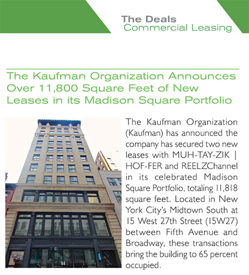 Mann Report preview Kaufman announcement